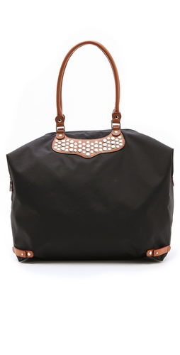 Shop Rebecca Minkoff Large Travel Tote with Flat Studs and Rebecca Minkoff online - Accessories,Womens,Handbags,Tote, online Store