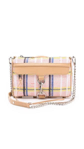 Rebecca Minkoff Surfer Plaid Mini MAC Bag
