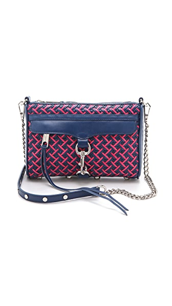 Rebecca Minkoff Bright Weave Mini MAC Bag