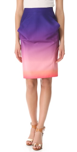 Shop Rebecca Minkoff Nilson Sunset Nylon Skirt and Rebecca Minkoff online - Apparel,Womens,Bottoms,Skirts, online Store