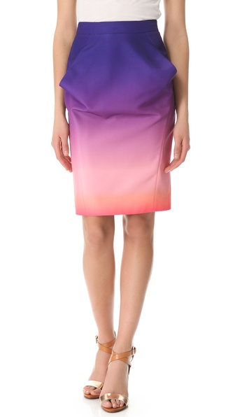 Rebecca Minkoff Nilson Sunset Nylon Skirt
