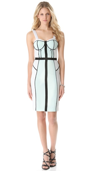 Rebecca Minkoff Colorblock Clara Dress