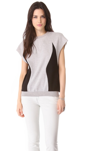 Rebecca Minkoff Leon Sleeveless Sweatshirt