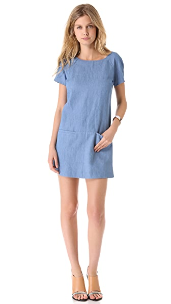 Rebecca Minkoff Chambray Rick Dress