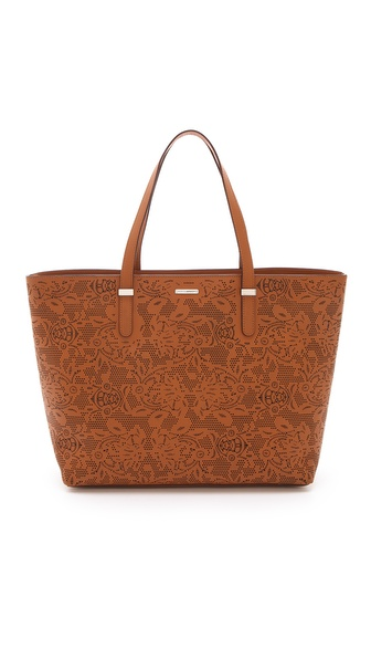 Rebecca Minkoff Laser Cut Perfection Tote