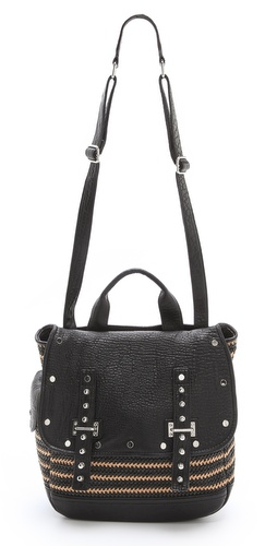 Rebecca Minkoff Woven Straw Logan Bag at Shopbop / East Dane