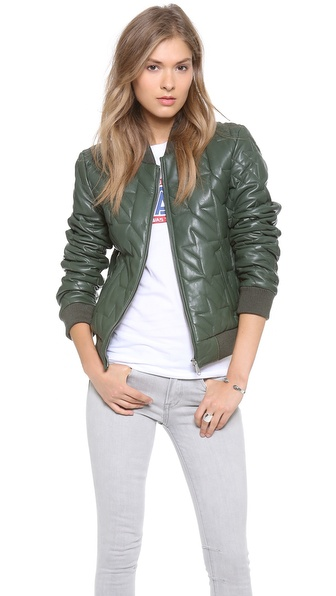 Rebecca Minkoff Nova Quilted Leather Jacket