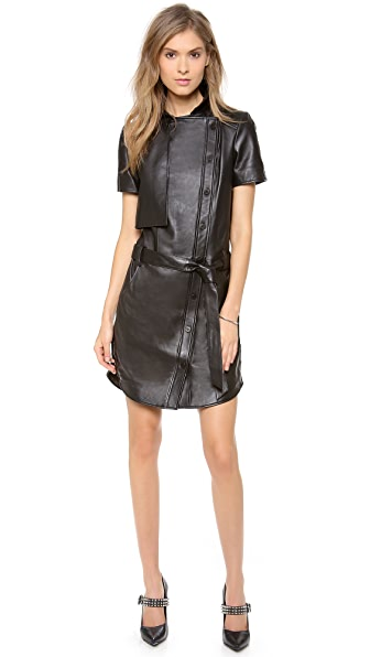 Rebecca Minkoff Pilot Leather Dress