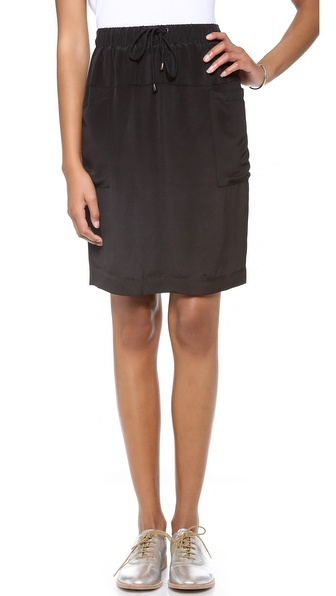 Rebecca Minkoff Atlantic Drawstring Skirt