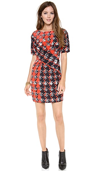 Rebecca Minkoff Neil Houndstooth Dress