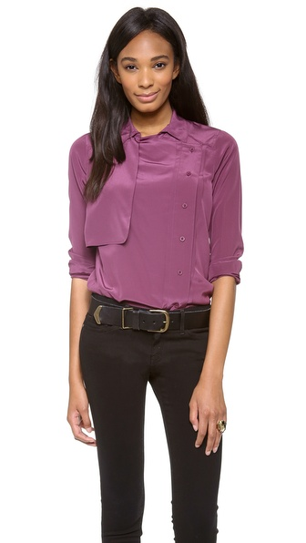 Rebecca Minkoff Long Sleeve Pilot Top