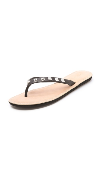Rebecca Minkoff Fiona Studded Flip Flops
