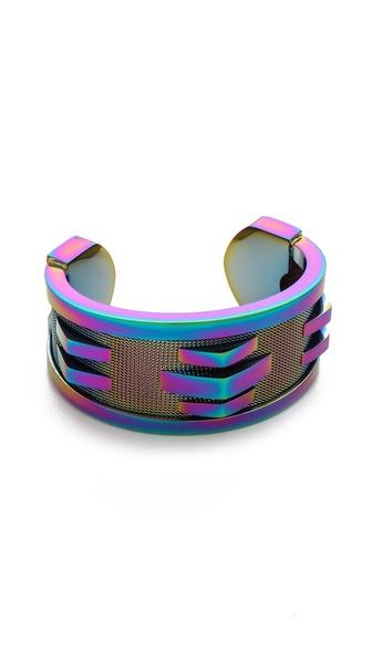 Rebecca Minkoff Woven Cuff Bracelet