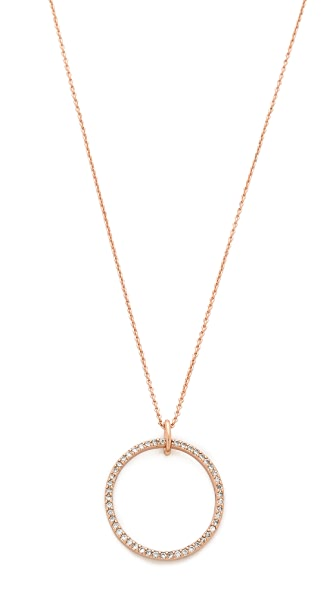 Rebecca Minkoff Circle Necklace