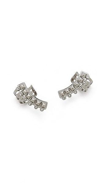 Rebecca Minkoff Curbs Ear Cuff Earrings