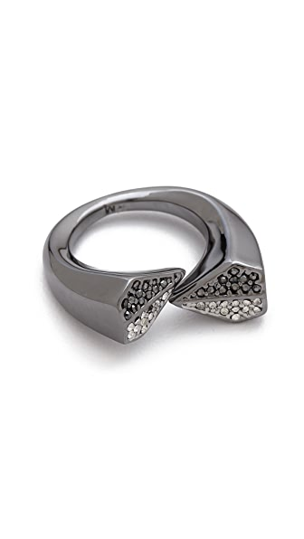 Rebecca Minkoff Blades Crossover Rings
