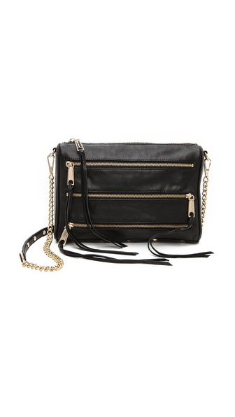 Rebecca Minkoff 5 Zip Cross Body Bag