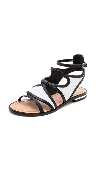 Rebecca Minkoff Simon Flat Sandals