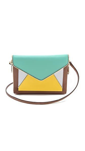 Rebecca Minkoff Colorblocked Marlowe Mini Clutch