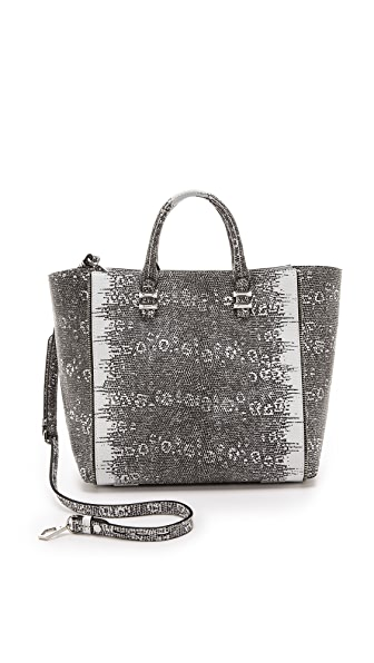 Rebecca Minkoff Printed Ring Lizard Mini Perry Tote