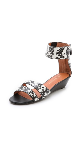 Rebecca Minkoff Lore Demi Wedge Sandals