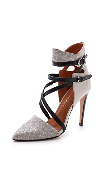 Rebecca Minkoff Raz High Heel Point Toe Pumps