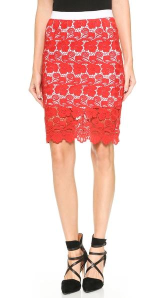 Rebecca Minkoff Angelica Lace Skirt