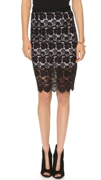 Rebecca Minkoff Angelica Lace Skirt