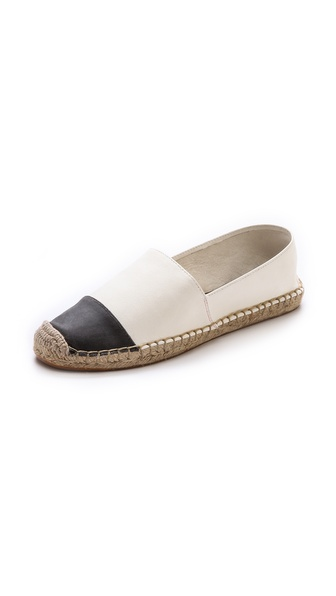 Rebecca Minkoff Gavin Leather Captoe Espadrilles