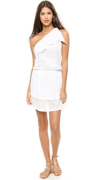 Rebecca Minkoff Beach One Shoulder Dress