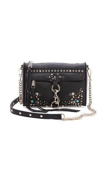 Rebecca Minkoff Mini MAC with Ascher Studs