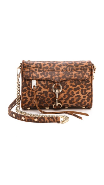 Rebecca Minkoff Animal Print Mini MAC