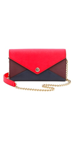 Rebecca Minkoff Colorblock Wallet on a Chain at Shopbop / East Dane