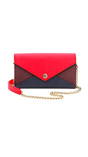 Rebecca Minkoff Colorblock Wallet on a Chain