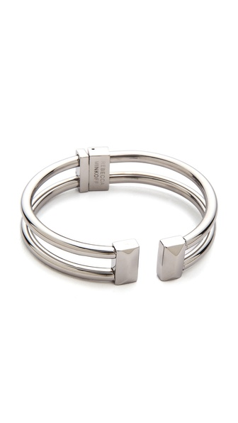 Rebecca Minkoff Rectangle Stud Hinge Cuff Bracelet