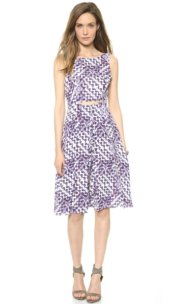Rebecca Minkoff Francis Dress - Multi