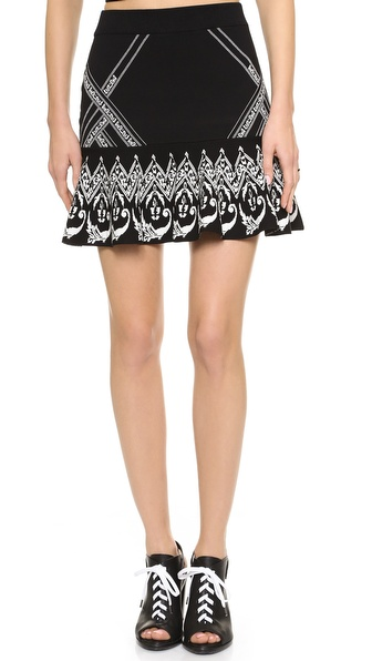 Rebecca Minkoff Fowler Sweater Skirt
