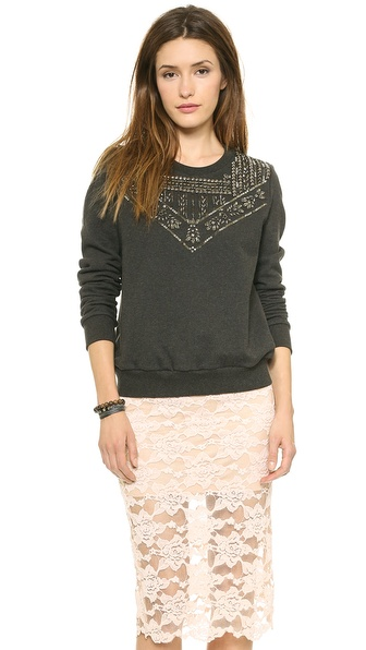 Rebecca Minkoff Ruth Studded Sweater