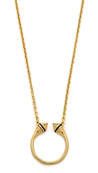 Rebecca Minkoff Spike Ring Necklace