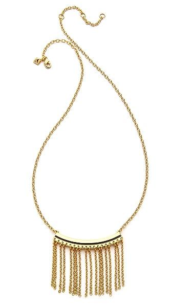 Rebecca Minkoff Fringe Necklace