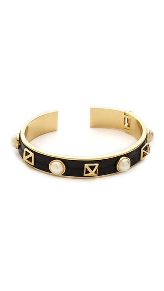Rebecca Minkoff Pyramid Stud Cuff Bracelet
