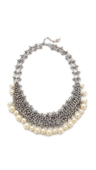 Rebecca Minkoff Mesh Statement Necklace