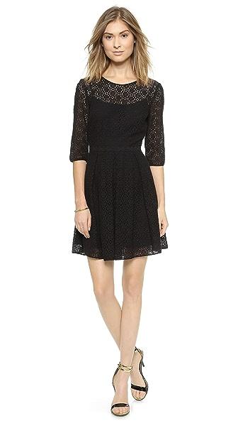 Kupi Rebecca Minkoff haljinu online i raspordaja za kupiti Rebecca Minkoff Lacey Dress Black online