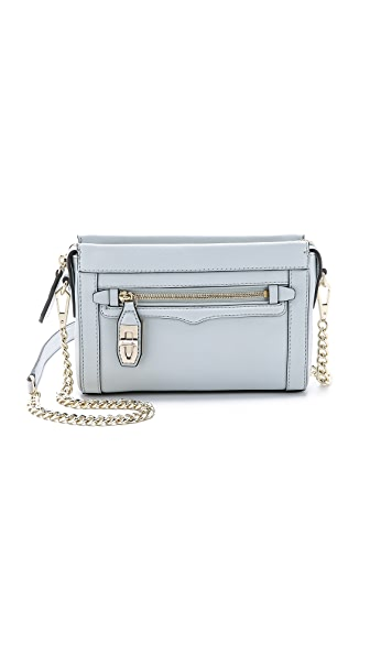 Rebecca Minkoff Mini Crosby Cross Body Bag - Fog