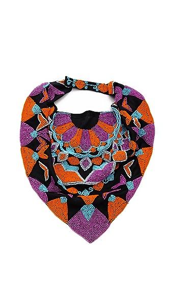 ROARKE new york Tile Bib Necklace