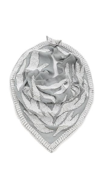 ROARKE new york Zebra Bib Necklace