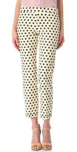 Rochas Polka Dot Pants