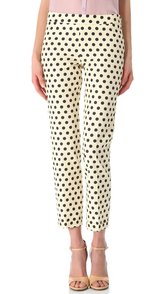 Rochas Polka Dot Pants