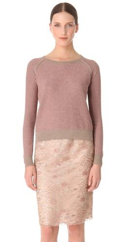 Rochas Metallic Wool Sweater