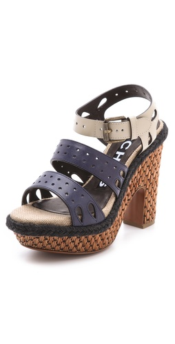Rochas Strapped Platform Sandals at Shopbop.com
